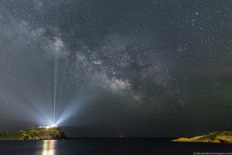 Photographing the Milky Way Over Greece 1