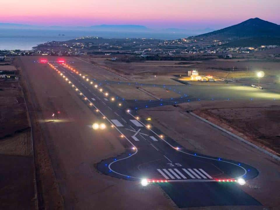 Greek PM opens new airport on Paros 17
