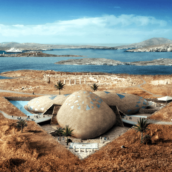 Architect Heim reveals plan for new museum in Delos 8