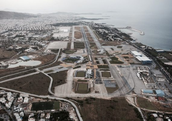 Athens old airport step closer to becoming classy waterfront Precinct 12