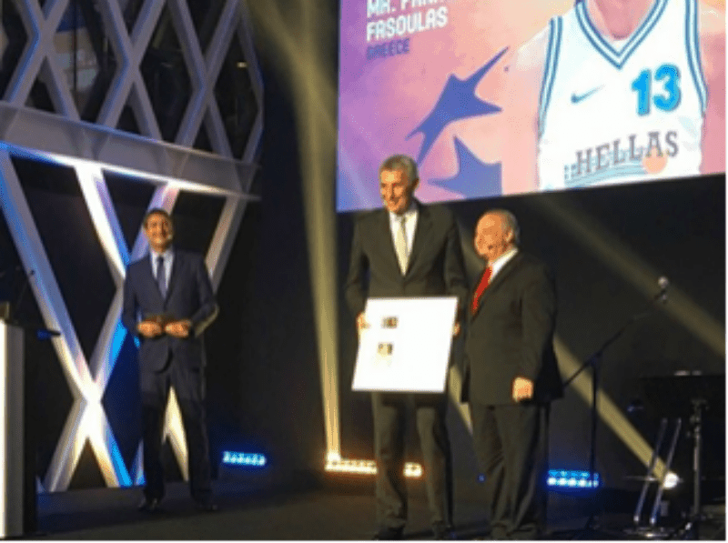Fasoulas officially inducted in FIBA Hall of Fame 16