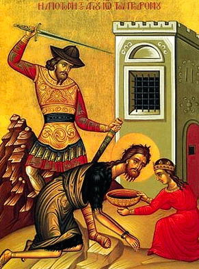 The Beheading of St. John the Baptist – August 29th 32