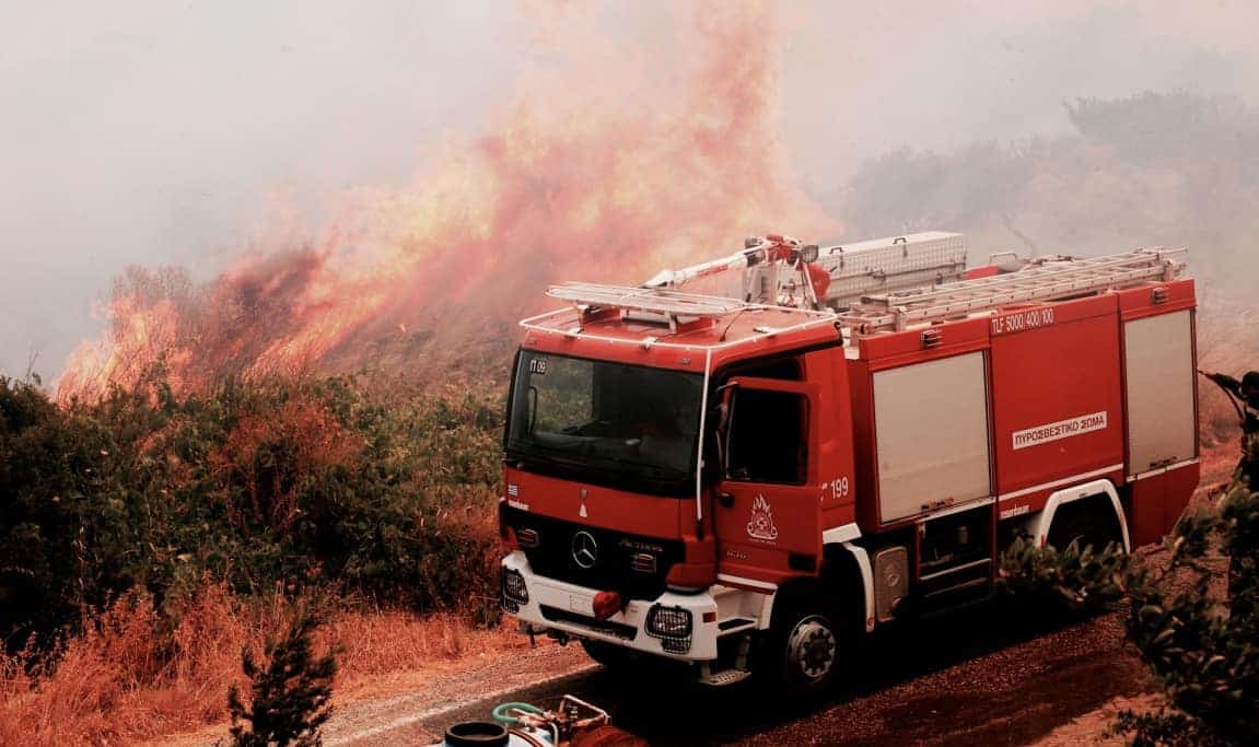 State of Emergency declared after fires ravaged Evia 11