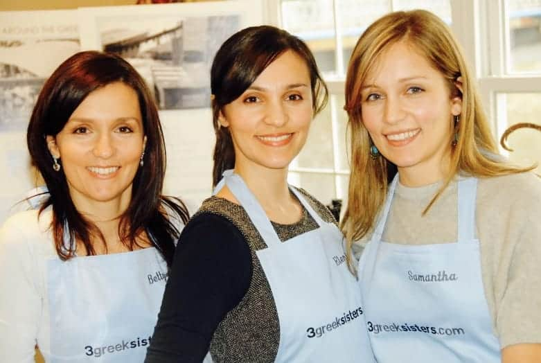 Three Greek Sisters promoting Greek cuisine to the World 1