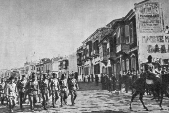 On this day 9th September, 1922 Turkish troops invade Smyrna 15