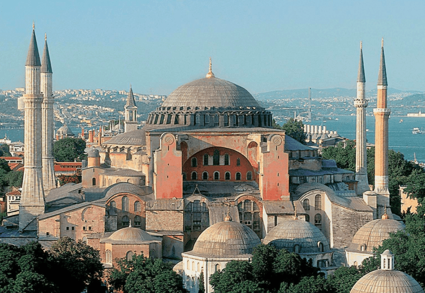 HISTORY OF HAGIA SOPHIA CHURCH IN CONSTANTINOPLE 1