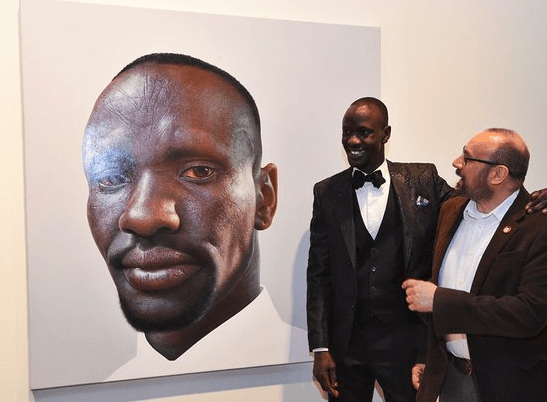 Greek Australian wins People's Choice Archibald Prize 2016 44