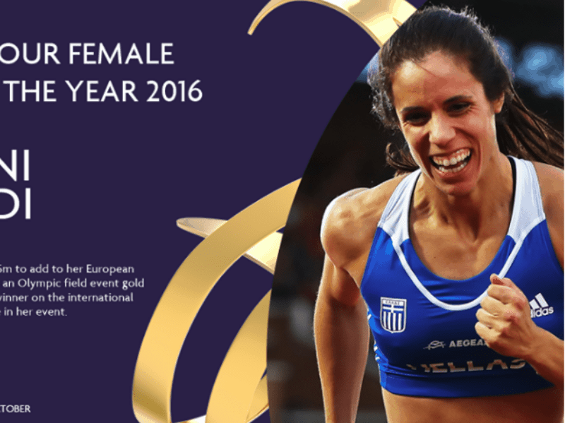 Stefanidi in running for Female Athlete of the Year 3