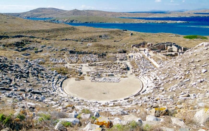Delos- Ancient theatre to Stage first play in 2,000 years 7