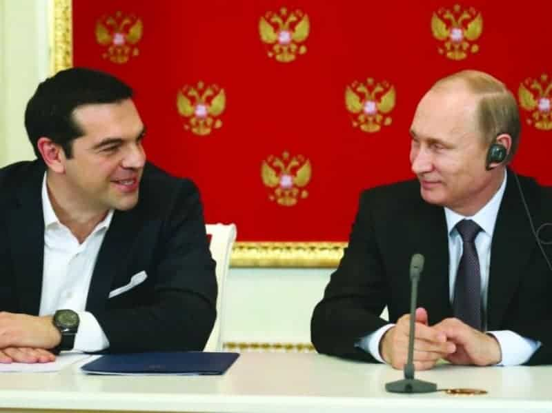 Putin asked to print Greek drachmas, claims rejected 8