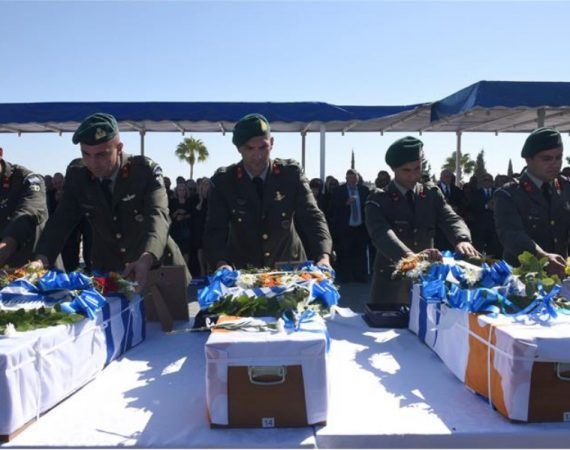 Homecoming for Greece's dead from 1974 Cyprus invasion 9