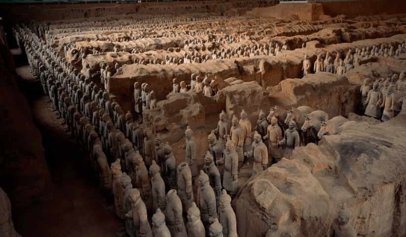 Greeks may have helped build China's famous Terracotta Army 25