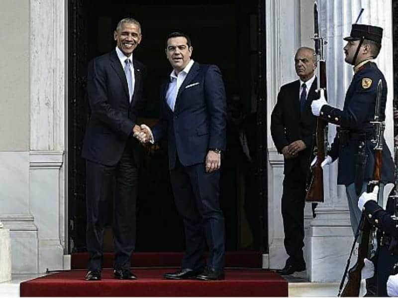We all want Greece to succeed: Obama 8