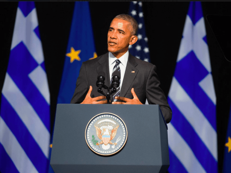 Obama makes final speech at birthplace of Democracy 7