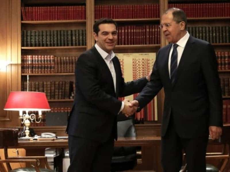 Greece and Russia forge closer ties 14
