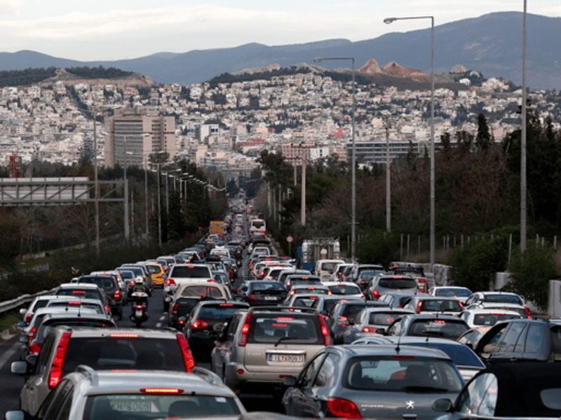 Diesel vehicles to be banned from Athens by 2025 4