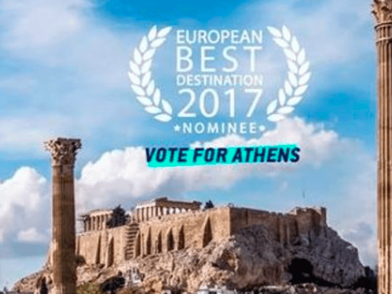 "Athens nominated for ""Best European Destination 2017"" 1"