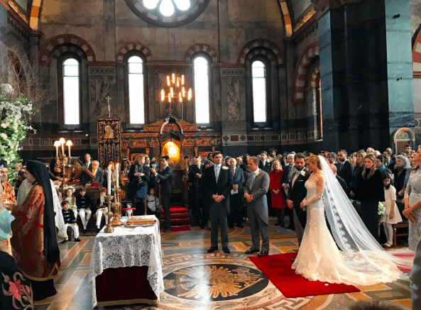 Lavish Greek wedding in London 207