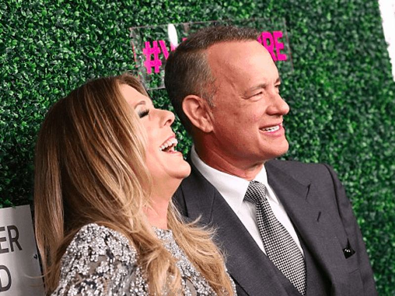 Rita Wilson says husband Tom Hanks helped her recover from cancer 24