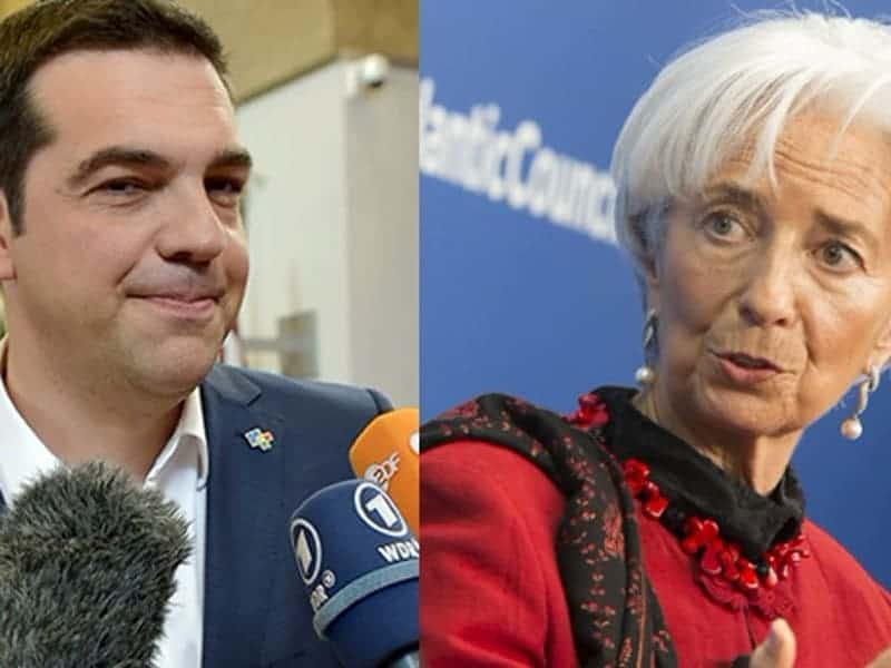 Tsipras and Lagarde discuss IMF role for Greece 13