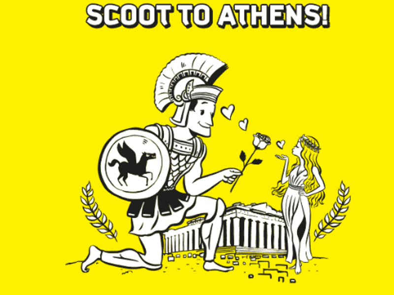 Scoot promoting cheap airfares to Athens again 8