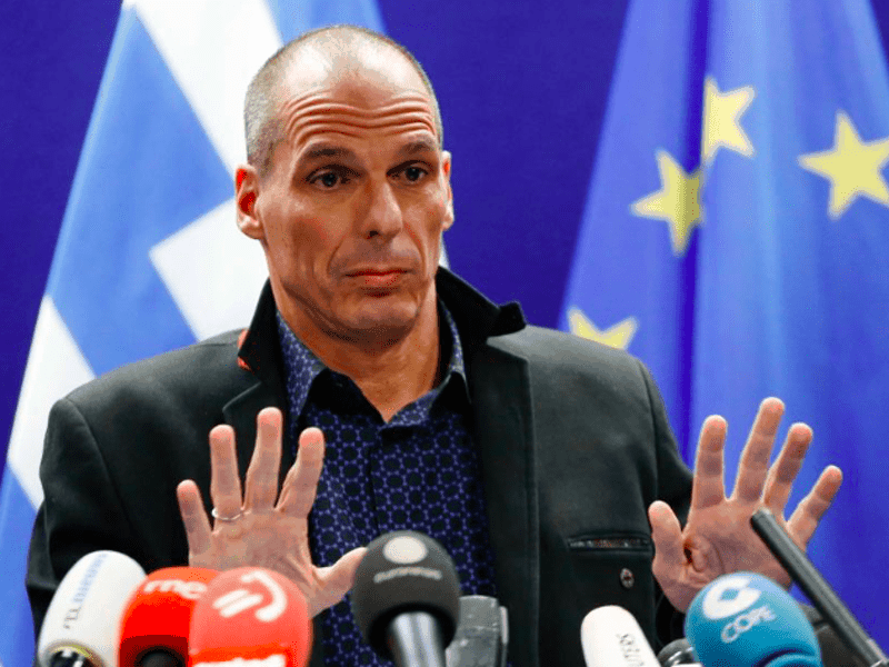 Varoufakis tells Greece to ditch its lenders! 12
