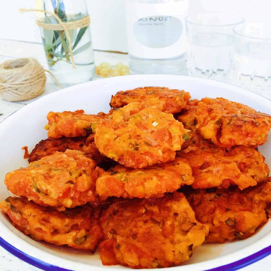 greek tomato fritters