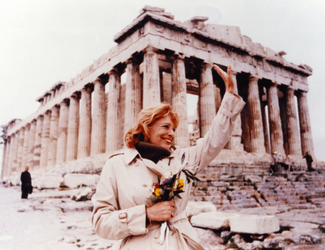 On this day in 1920, Greece's much-loved Melina Mercouri was born 6