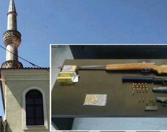 Greek police raid mosque in Xanthi and discover weapons 18