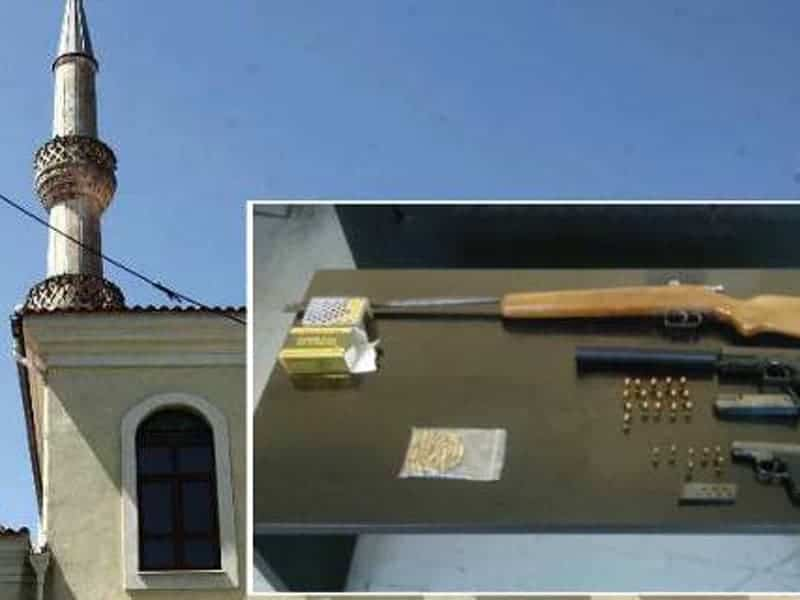Greek police raid mosque in Xanthi and discover weapons 16