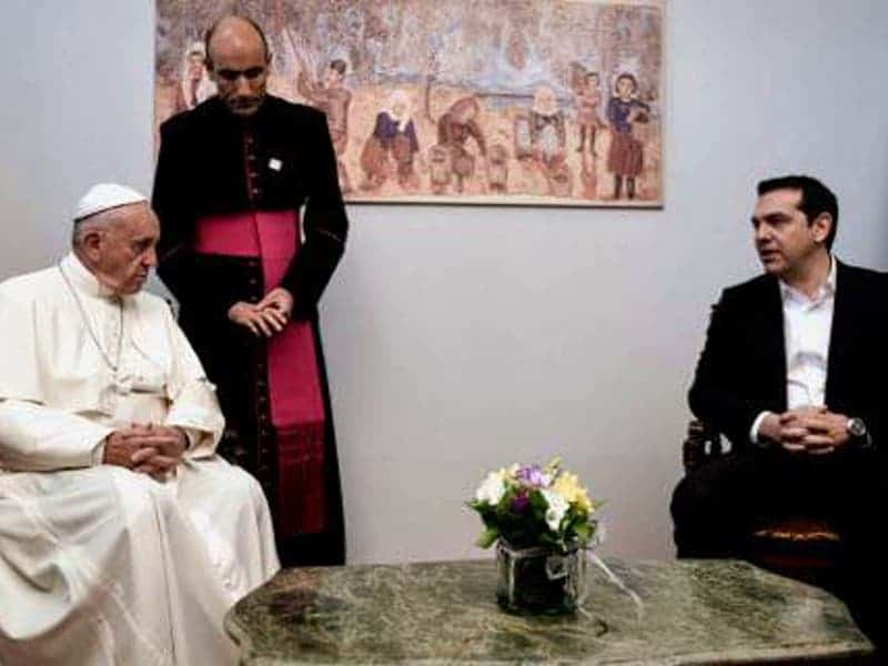 Pope thanks Greek Prime Minister for supporting society's vulnerable 3