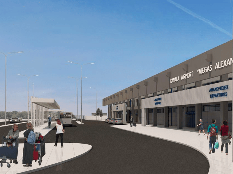 Fraport Greece reveals new designs for 14 Greek regional airports 6