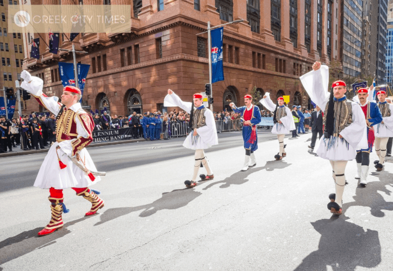 Evzones official visit to Sydney – Greek City Times