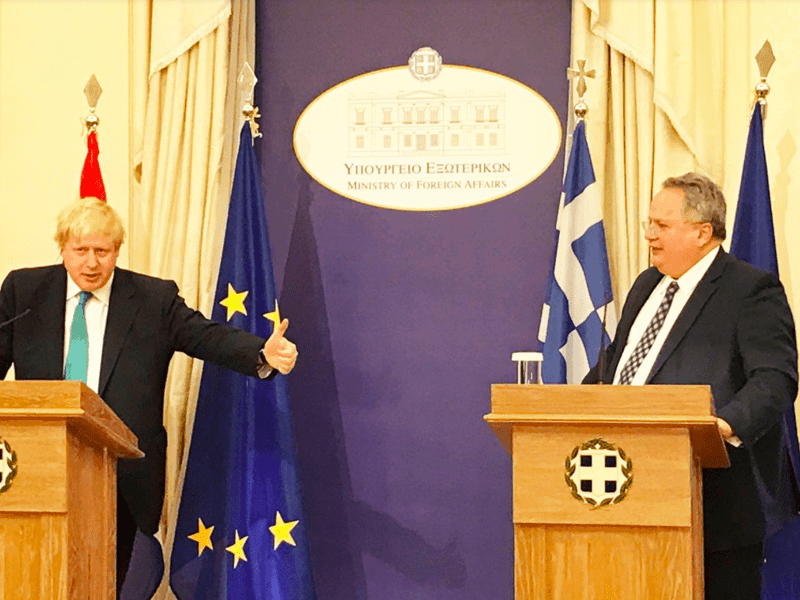 British and Greek Foreign Ministers meet about post-Brexit future 21