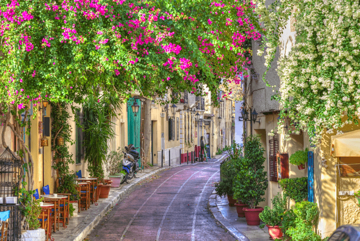 Lose yourself around 'Plaka' Athens oldest & finest neighbourhood 45