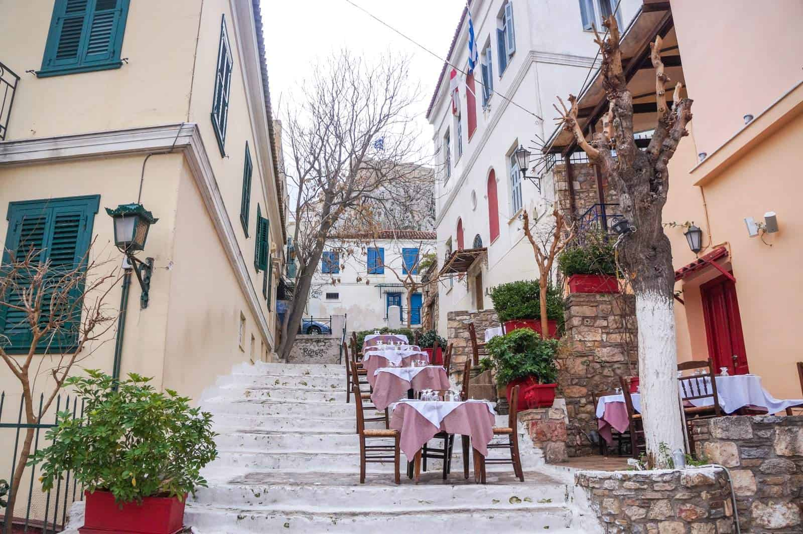 Lose yourself around 'Plaka' Athens oldest & finest neighbourhood 14