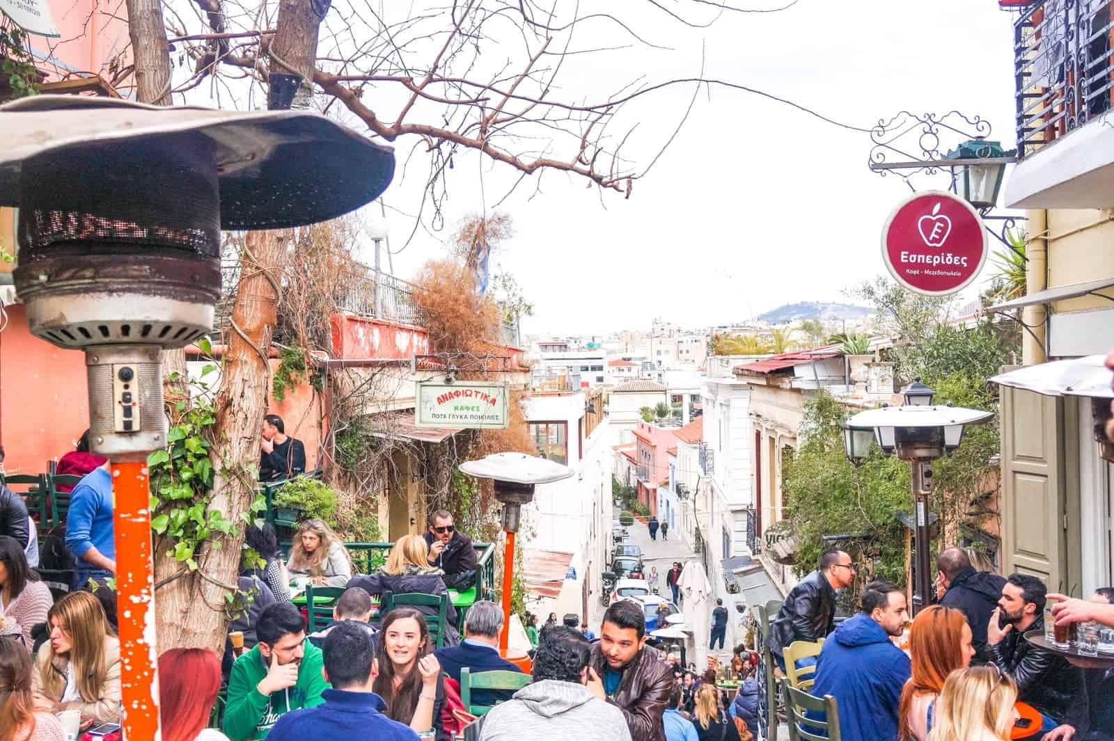Lose yourself around 'Plaka' Athens oldest & finest neighbourhood 12