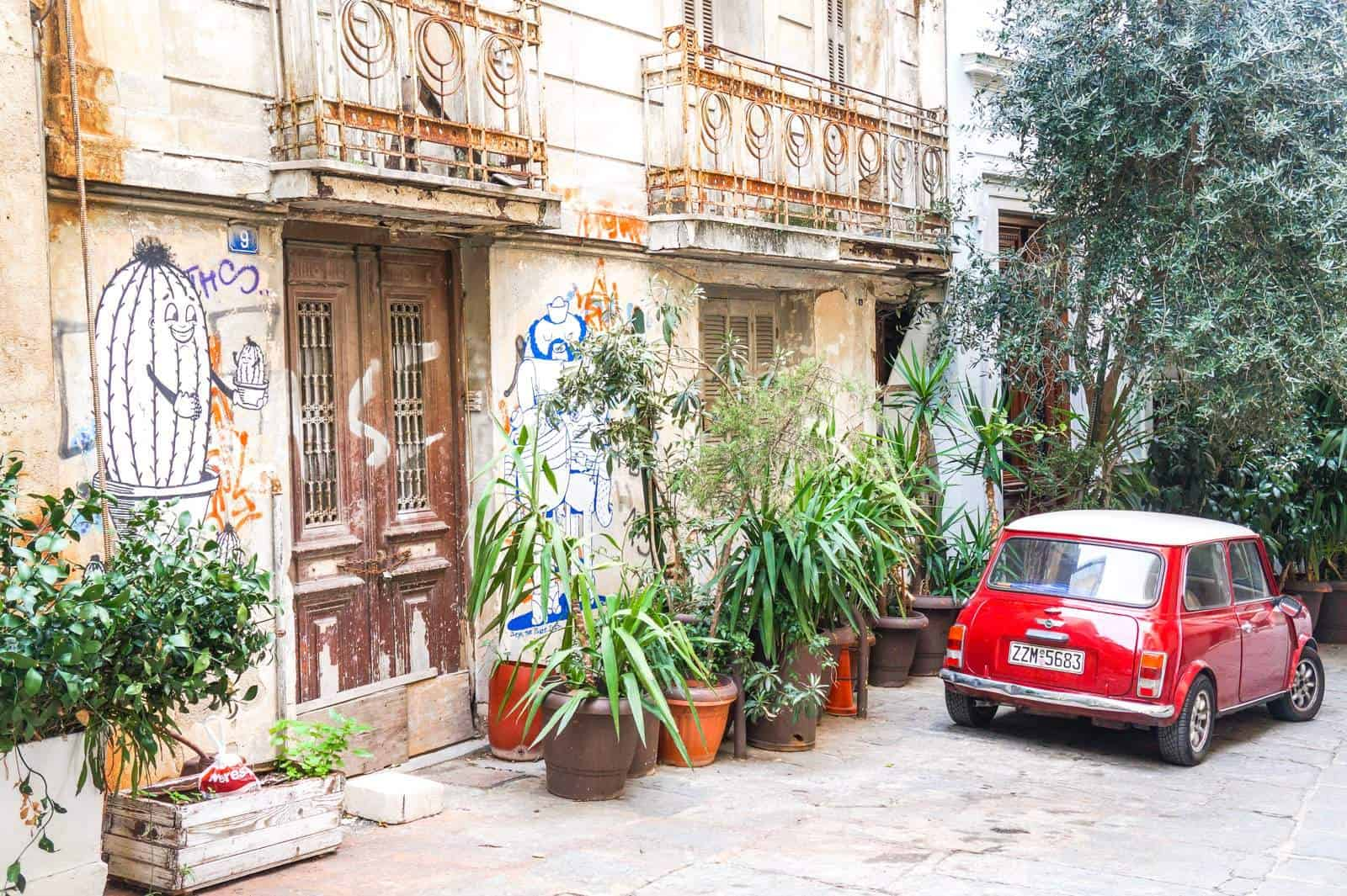 Lose yourself around 'Plaka' Athens oldest & finest neighbourhood 13
