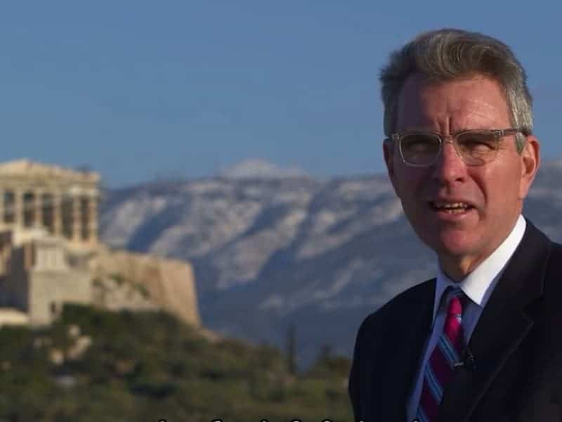 US Ambassador promotes 'recovering' Greece to American investors 26
