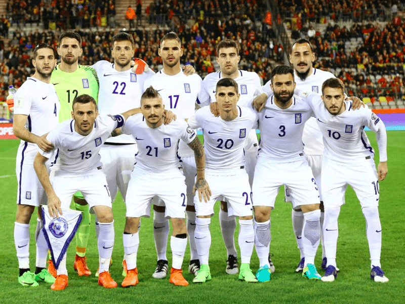 Greece takes on Bosnia for World Cup 2018 1