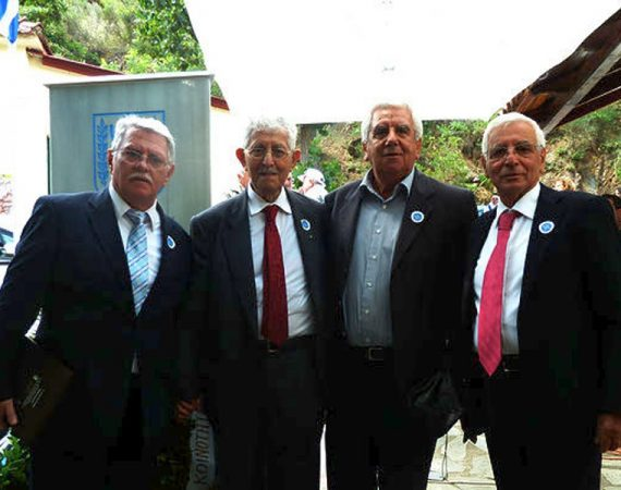 Greek Jews honour villagers who protected them from Nazis 5