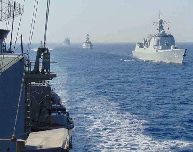 Greece and China in joint military exercises 10