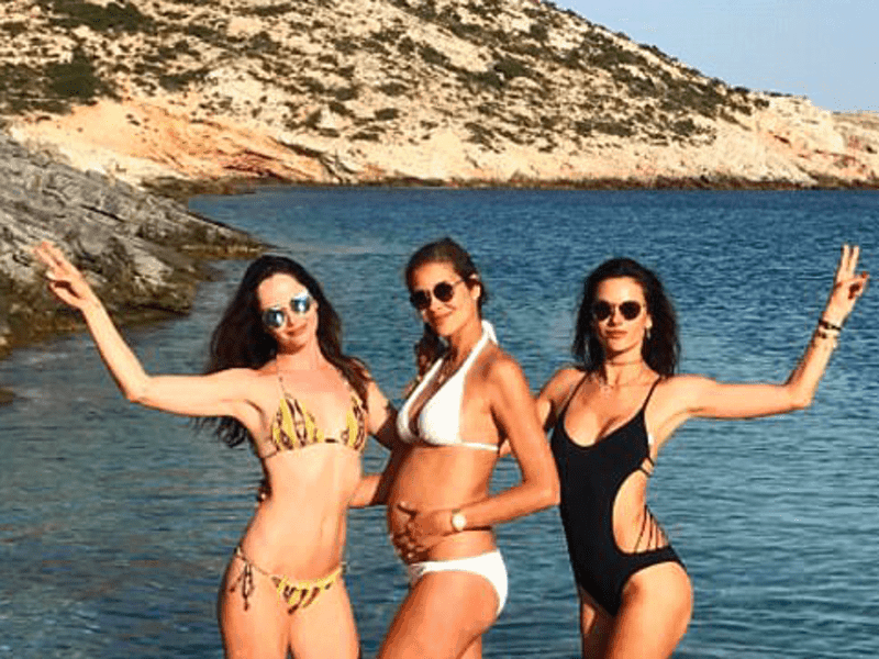 Global Celebs hit Greece for Summer 17 7