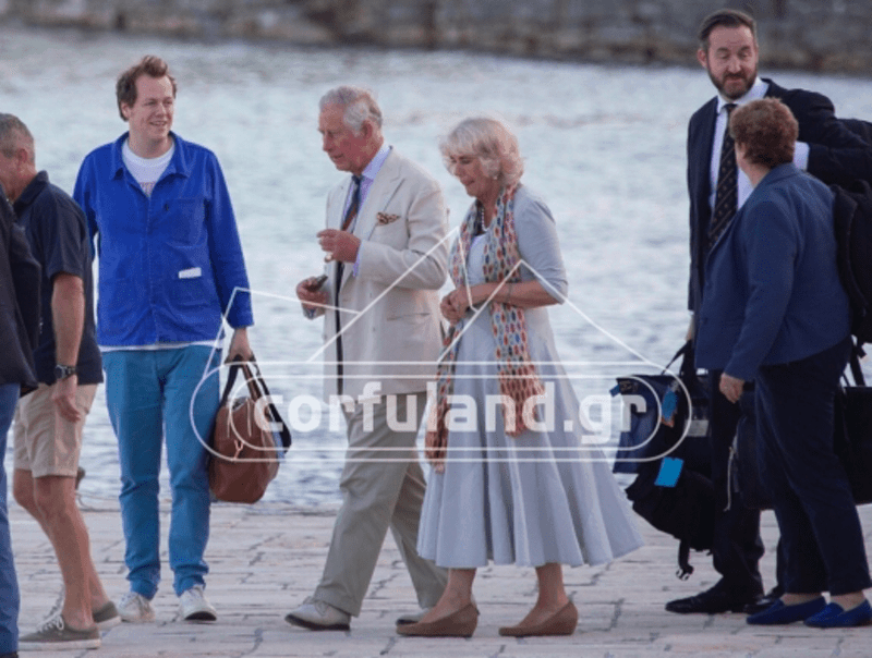 Prince Charles holidaying in Greece 12