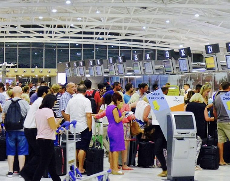 Greece's Airports see increased Passenger traffic and flights in First Half of 2017 18