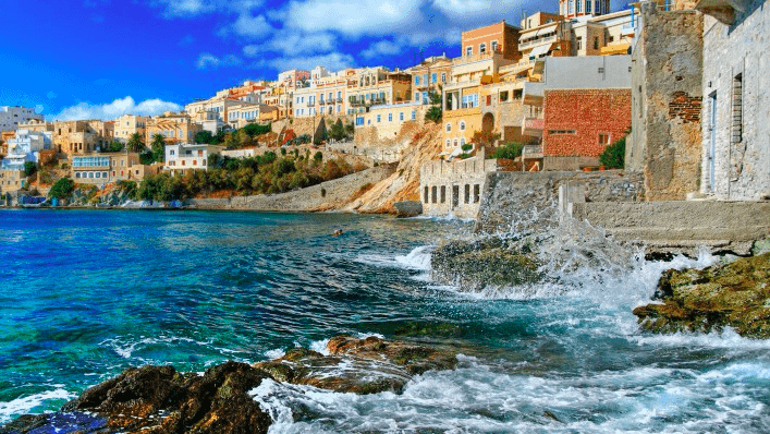 Syros – the centrepiece of the Cyclades 49