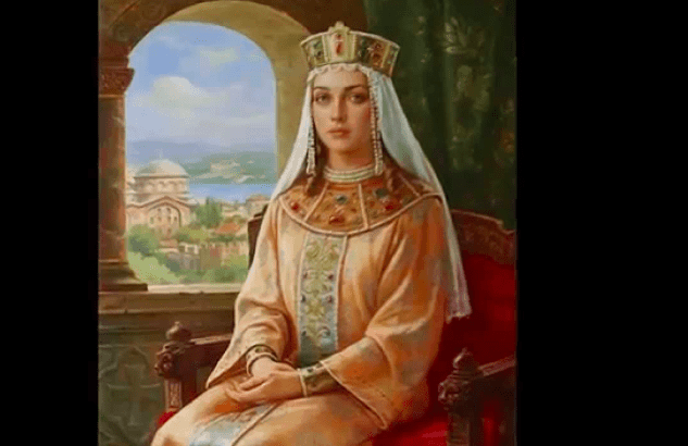 On this day, August 9, 803, Irene of Athens died 13
