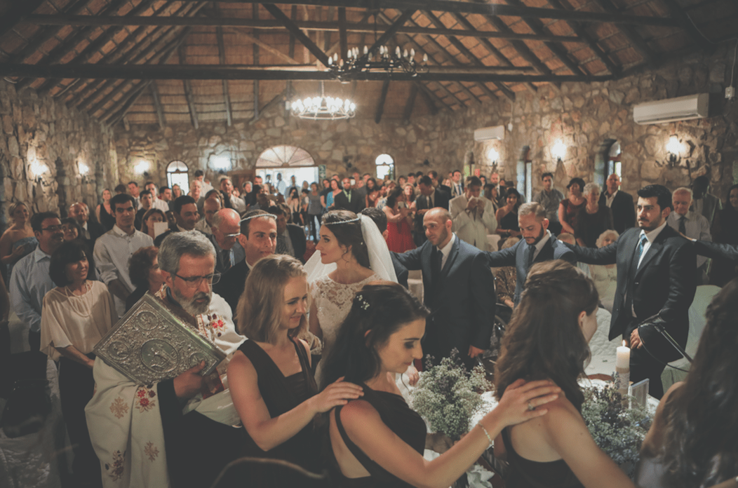 Vasili & Babette's simply stunning Greek wedding in South Africa 28