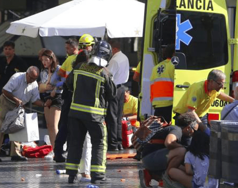Greece sends support to Barcelona after terror attack leaves 13 dead 26
