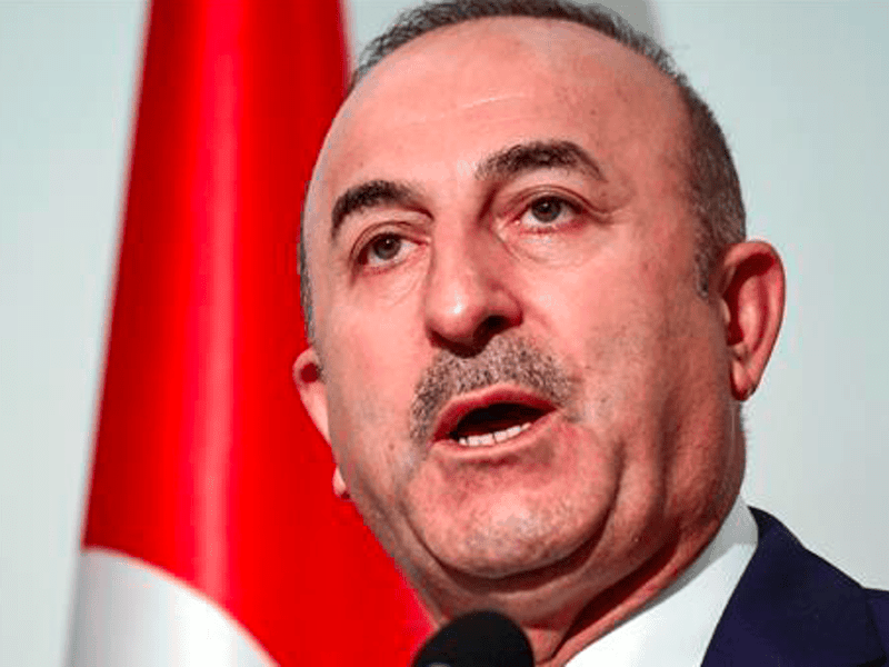 Turkish Foreign Minister says Ankara won't accept Treaty of Lausanne 2